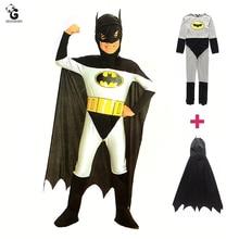 Costumes de super héros chauve souris pour enfants, déguisements dhalloween de noël, déguisement de dessin animé, cape Cosplay pour garçons