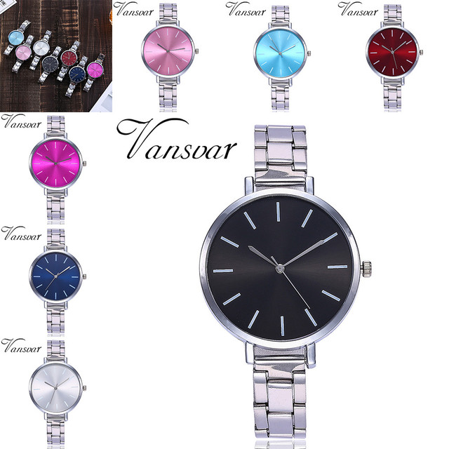 Hot Sale Relogio Feminino Women Bracelet Watches Alloy Analog Quartz Wrist Watch