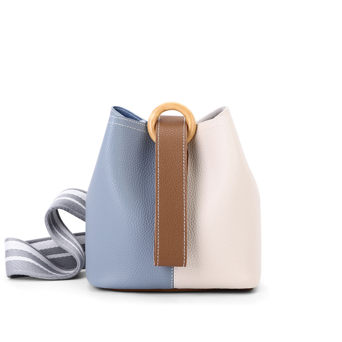 2017 split color Cute Women Messenger bucket Bags Small High Quality PU leather Shoulder Bags Ladies Hand Bags crossbody bag fashion patchwork women crossbody bags high quality pu leather women shoulder bag hit color ladies messenger bags small sac new