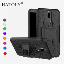 For Cover Huawei Mate 10 Lite Case Anti-knock Heavy Duty Armor Cover Nova 2i Silicone Phone Bumper Case For Huawei Mate 10 Lite цена и фото