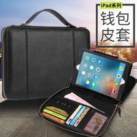 Premium PU Leather Cover For Apple iPad Air 1 2 pro 9.7 2017 2018 9.7 With Wake up/Sleep Protective Shell Funda+Stylus pen.