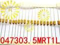 100% Оригинальный LF 0.5A 1A 1.5A 2A 3A 3.5A 4A 5A 7A 125 в 3*7 мм осевой свинцовый желтый предохранитель 0473 медленный выдув PICO резистор предохранитель x100шт