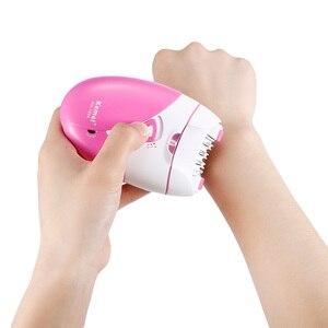 Image 2 - Épilateur électrique Rechargeable avec port USB pour femme, pour épilation, rasage