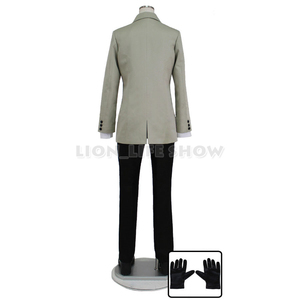 Image 2 - Persona 5 P5 Goro Akechi School Uniform Suit Cosplay Costume Outfit Customize