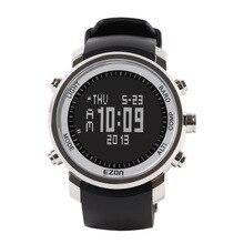 EZON мужчины лучший бренд класса люкс Водонепроницаемый 50 м Наручные Часы Восхождение многофункциональный кемпинг компас часы открытый часы