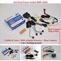 Для Ford Focus Седан 2009 ~ 2014-Автомобилей Датчики Парковки + Вид Сзади резервное Копирование Камеры = 2 в 1 Видео/Bibi Парковка система