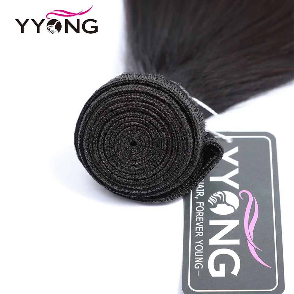 Yyong Straight Hair Bundles With Frontal  Bundles With Closure  Hair  Bundles With Closure 4