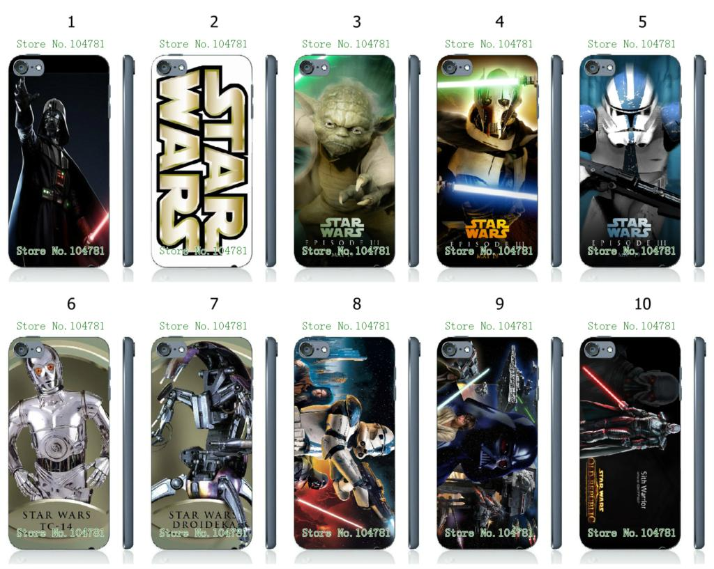 low priced 2b4a7 40344 US $1.69 |2015 new hot star wars white hard cases for ipod touch 5 5th +  free shipping-in Half-wrapped Case from Cellphones & Telecommunications on  ...