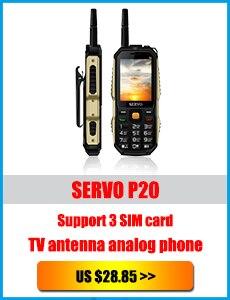 """Серво X7 2,"""" Три sim-карты мобильного телефона антенна для аналогового ТВ 4000 мАч Мощность банк Лазерная Голос Изменение Функция мобильных телефон"""