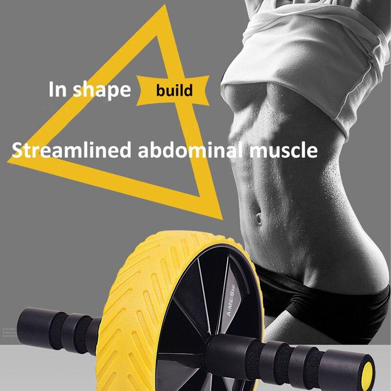 Roue d'exercice abdominale roue d'exercice abdominale pour femmes et hommes gilet de débutant ligne équipement de fitness intérieur