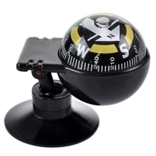 Новая распродажа Новый автомобиль Транспортное средство плавающий шар Магнитный навигации компас черный