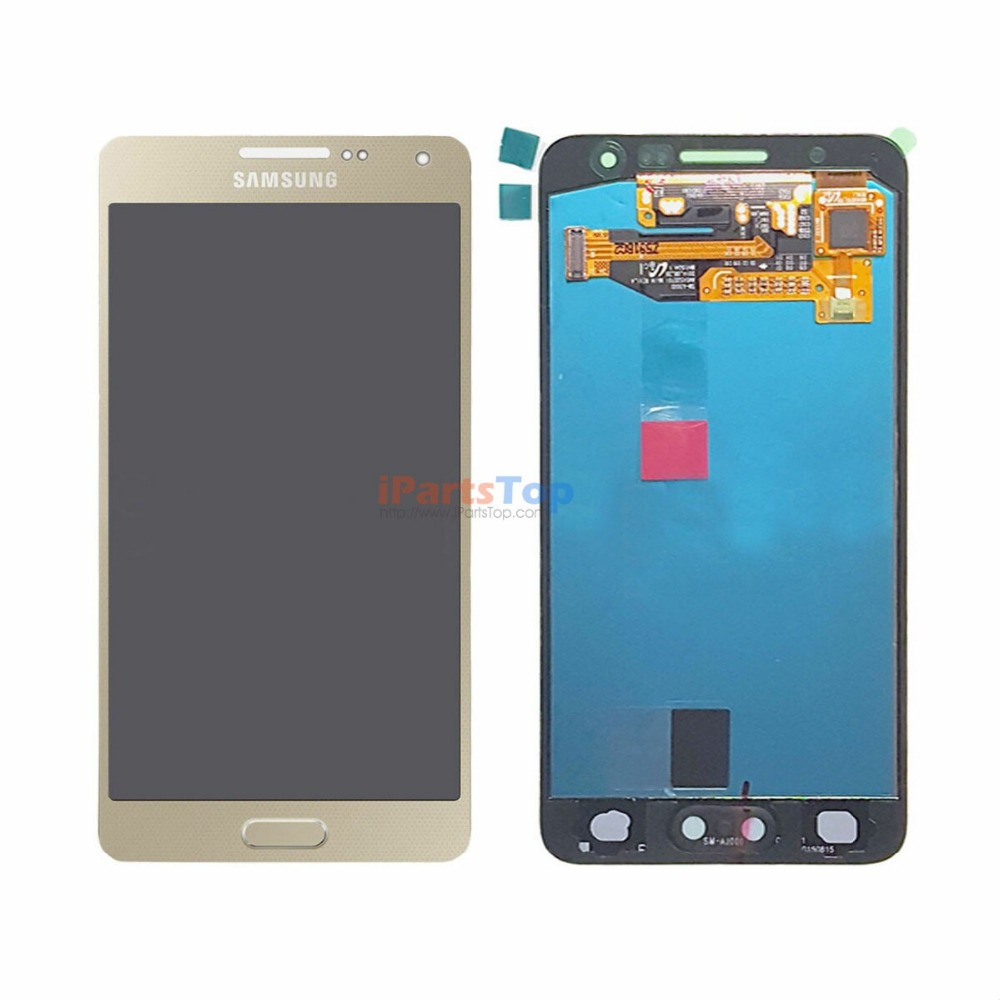 Original LCD Screen Display With Touch Digitizer Assembly For Samsung Galaxy A3 A300 A3000 A300F Black White Gold brand new lcd for samsung galaxy a3 a3000 a300 a300x a300f screen display with touch digitizer assembly