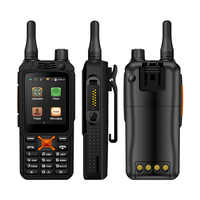 WCDMA walkie talkie 850/900/1800/1900 Mhz network two way radio GSM WIFI SIM Card Network transceiver waterproof with headset
