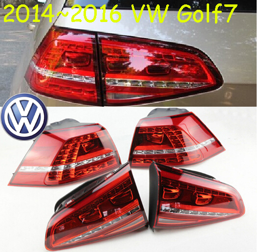 car-styling,Golf7 Taillight,2014~2016,led,Free ship!4pcs,Golf7 fog light;car-covers,Golf7 tail lamp;Touareg,Gol, Golf 7 simulation mini golf course display toy set with golf club ball flag