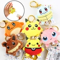 Anime Pokemon Pocket Monster Pikachu Cute Mini Plush Doll Keychain Keyring Charm