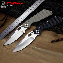 LCM66 tactical Folding Knives 7Cr17Wov Blade G10+ steel handle Camping Outdoor Survival Knives Pocket Top STRIDER Quality
