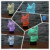 Novo 2017 domicílios 7 Mudando A Cor Night Light Gato 3D lamparas levou Quarto lâmpada de Mesa Lâmpada de Luz Festa de mesa infantil noche