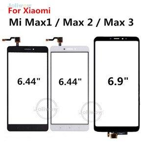 Image 1 - Handy Touch Panel Für Xiao mi mi Max Max 1 Max 2 Touchscreen Max 3 touch Panel Glas sensor Reparatur Ersatz
