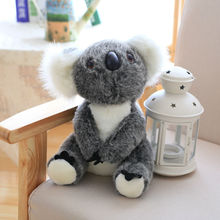 Simulation Koala Plush Toy Stuffed Animal Australia Toys For Children Education  Home Decoration Decent Bed