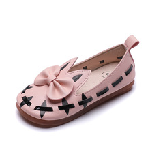 COZULMA New Kids Shoes for Girls Pincess Dress Children Dance Pu Leather Soft Bottom Sneakers Baby