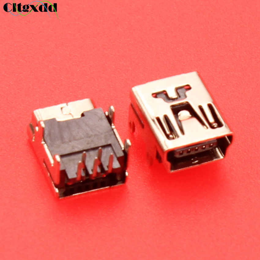 Cltgxdd hembra Mini usb hembra Puerto V3 puerto para MP3 MP4 USB tipo B 5pin 8pin10pin SMT SMD USB jack conector de piezas de reparación