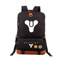 حار لعبة مصير الحديد راية الظهر الأسود حقائب مدرسية Bookbag تأثيري ألعاب أطفال المراهقين الكتف محمول حقائب السفر هدية