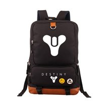 Hot Game Destiny iron Banner Backpack Black School Bags Bookbag Cosplay Gamer Kids Teens Shoulder Laptop Travel Bags Gift
