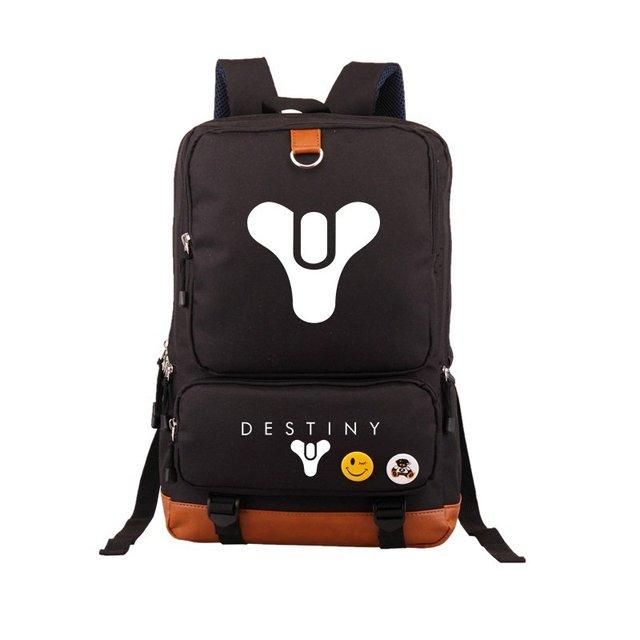 Hot Game Destiny iron Banner Backpack Black School Bags Bookbag Cosplay Gamer Kids Teens Shoulder Laptop Travel Bags Gift