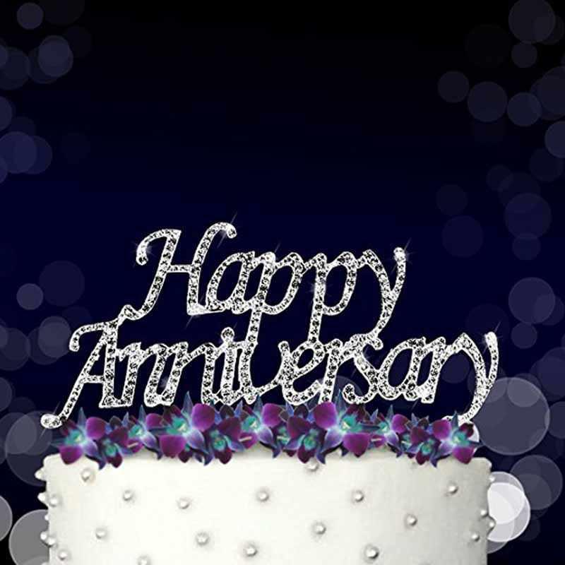 70th Wedding Anniversary.Happy Anniversary Cake Topper For 10th 20th 25th 30th 36th 40th 50th 60th 70th Wedding Anniversary Table Centerpiece Decoration