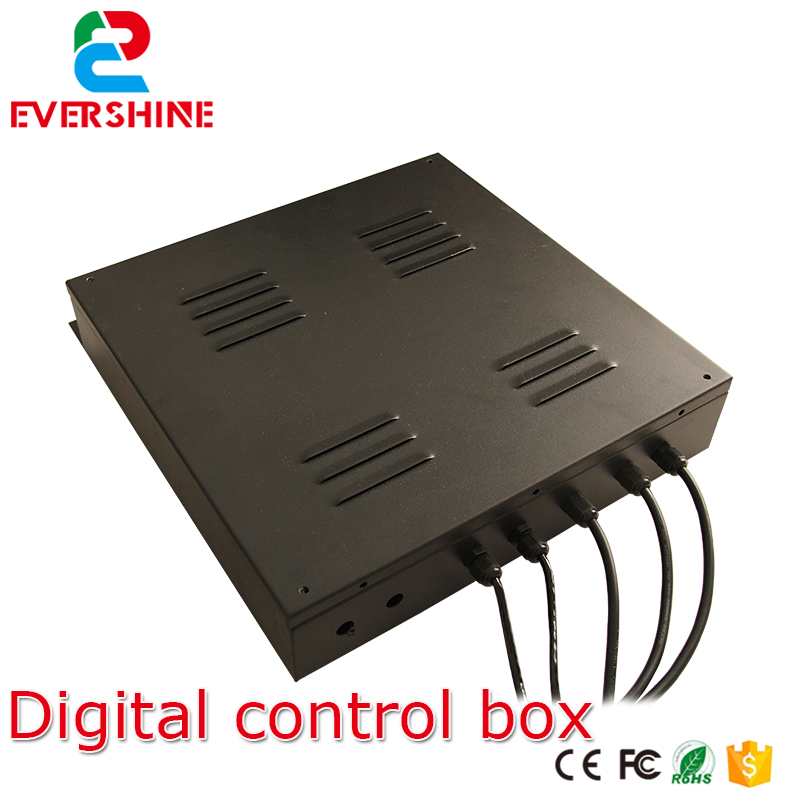 professional control box Apply to 8 10 12 16 18 red white blue green oil station digital number signs controller
