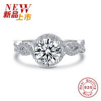 2017 S925 Sterling Silver Female Character Typ Ring Silver Jewelry Explosion For Wedding Birthday Gifts Of