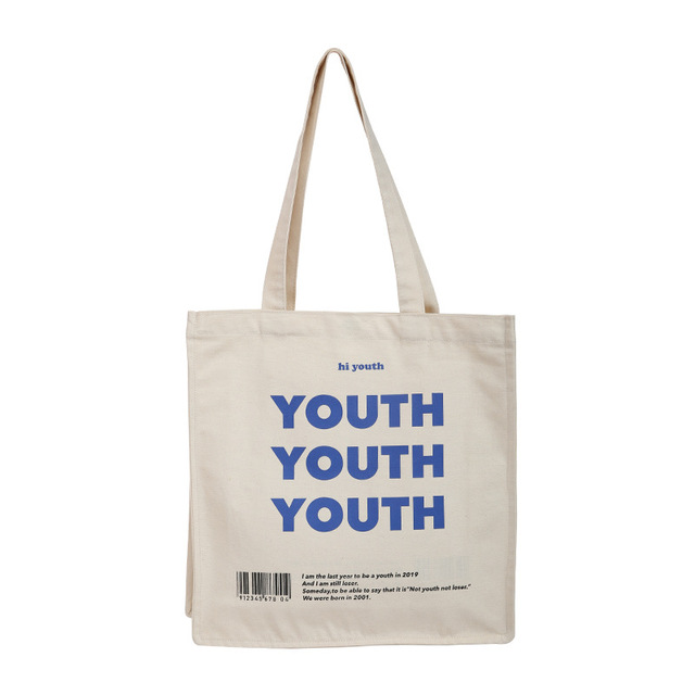 Youth Printed Women's Reusable Shopping Bag