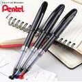 をオリジナルぺんてる TRJ50 ペン高度なフェルトペン 0.4 ミリメートル 0.7 ミリメートル黒/ためにレッド/ブルーライトパネルスケッチ漫画デザイン