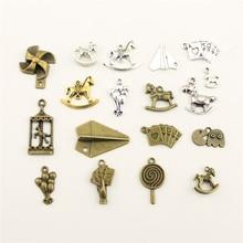 Jewelry Female ChildrenS Trojan Rocking Horse Paper Plane Poker Balloon Diy Accessories