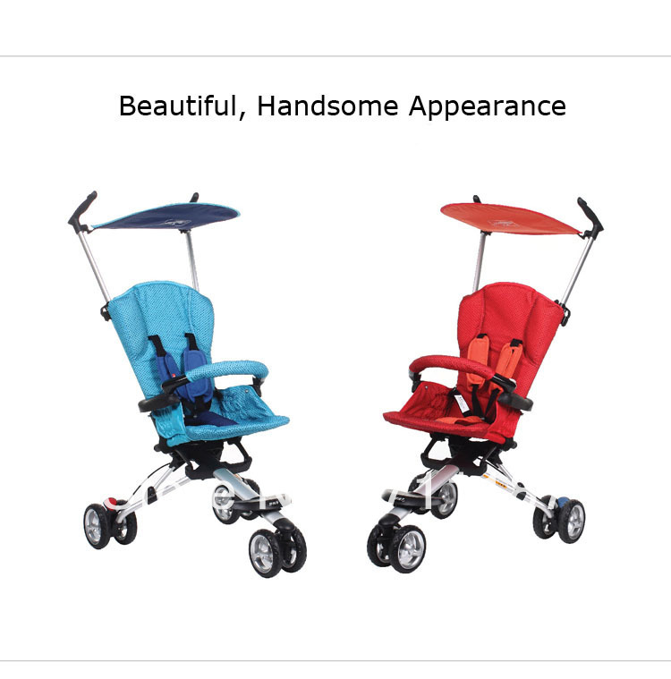 Comfortable Ride Baby Travel Systems Strollers 3 Wheel Portable ...
