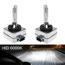 HNYRI 2 шт. HID фары 35 W D1S/D1R/D1C D2S/D2R/D2C автомобиля 12 V Заменить туман светодио дный Универсальный лампы 6000 K 10000 K для Audi BMW