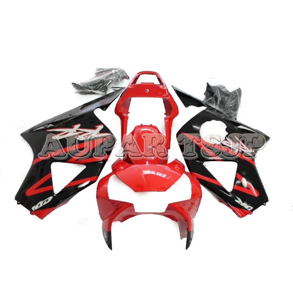 Carrosserie rouge noire pour Honda CBR900RR 2002 2003 02 03 panneaux CBR954RR 02 03 2002 2003 carénages d'injection plastique ABS scooter