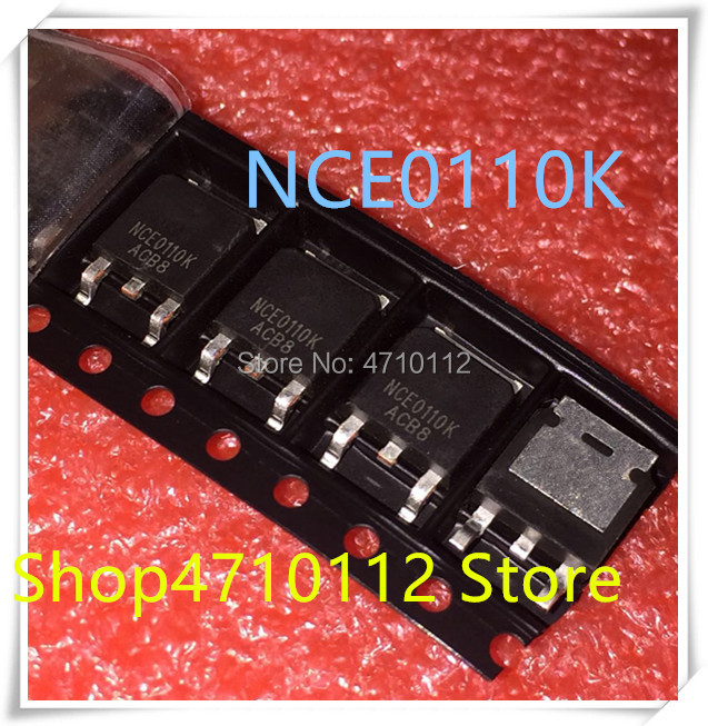 NEW 10PCS/LOT NCE0110K NCE0110 TO-252 IC
