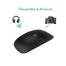 Bluetooth Transmitter font b and b font Receiver Wireless 1 to 2 Transceiver TX RX Support