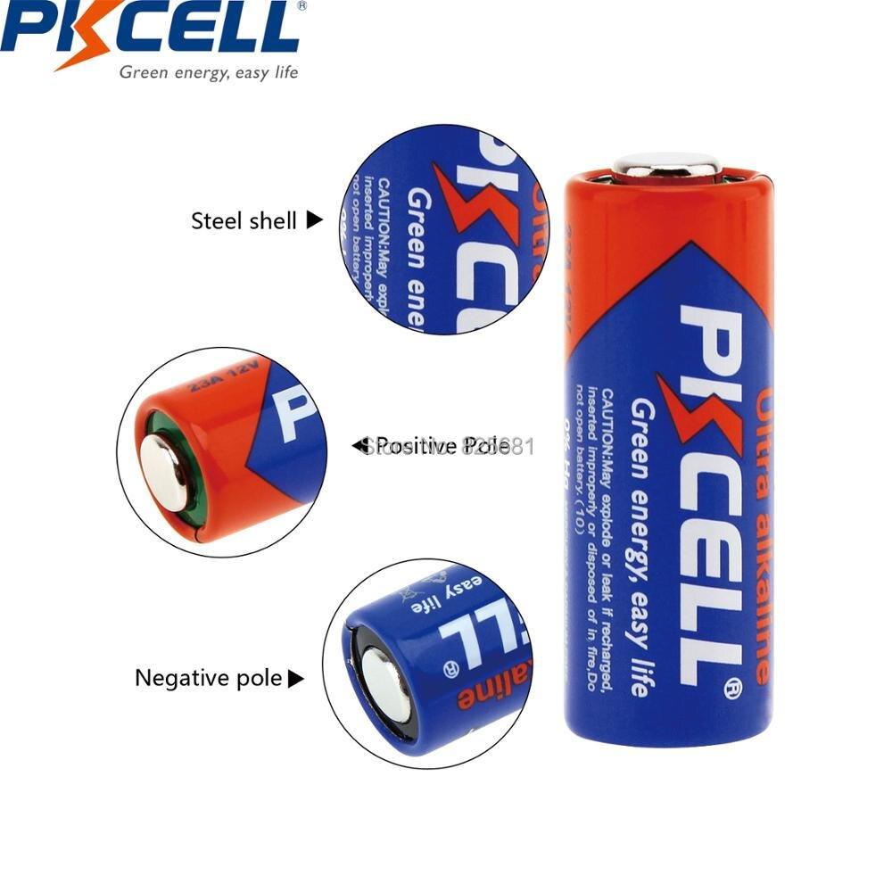 5 шт. 1 карта PKCELL 23A 23AE 23A MN21 12 В 23a щелочная батарея сухие батареи для дверной звонок сигнализация Пульт дистанционного управления игрушка