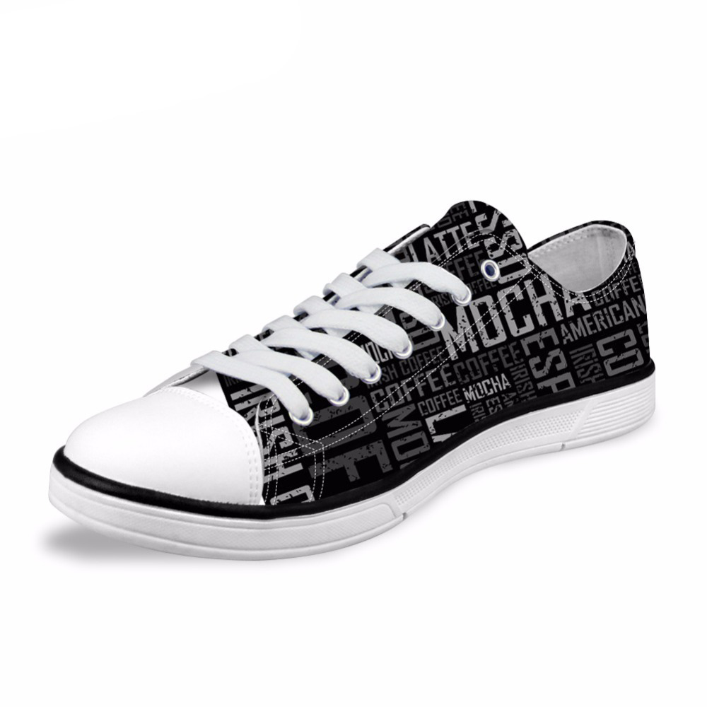 NOISYDESIGNS Spring Summer Canvas Shoes Mens 2018 Fashion Hot-Selling Vulcanized Shoes Homme Casual Black Flat Plimsolls Shoes