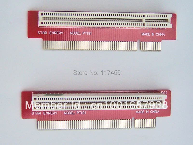 PCI Riser Card 25.5mm 1U Standard Chassis connector PT191