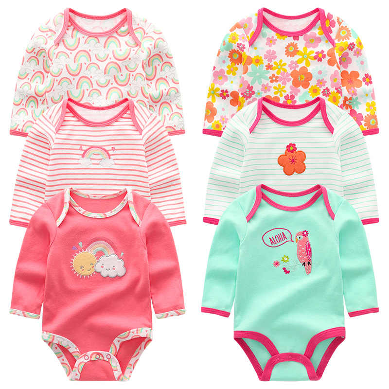 Baby Mädchen Kleidung roupa de bebe Neugeborenen Jungen Kleidung Infantil Strampler Baumwolle Lange Sheeve Baby Pyjamas 3 Teile/sätze Tops ropa bebe
