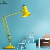 Modern Color Floor Lamp For Living Room Nordic Bedroom Telescopic Standing Lamp Lndoor Lighting Luminaires Decor Floor Lamps