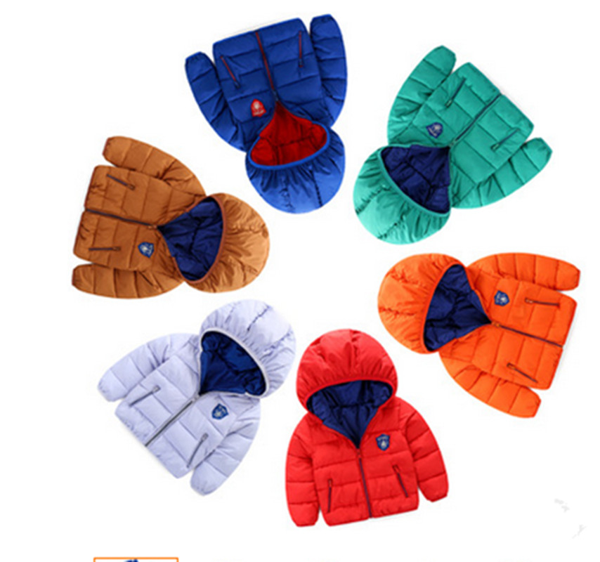 цены  Girls Clothes Down Coat Jacket Parka Winter Jacket For Girls 2016 Thick Cotton-padded Parkas Clothes Windproof Kids Outwear 2y