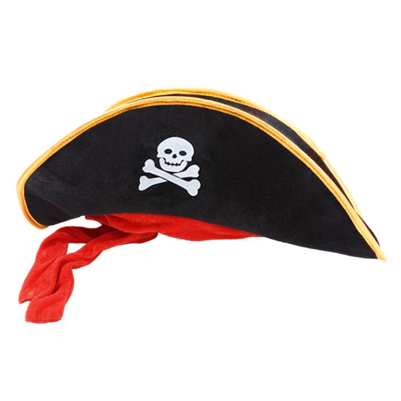 90f7eedb3a41b 1pc Pirate Captain Hat Halloween Party Cosplay Pirate Hat Decoration Holiday    Party Decorative Tools Kit Accessories JK1248-in Party DIY Decorations  from ...
