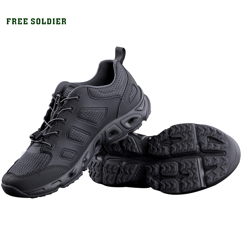 FREE SOLDIER outdoor sports tactical military upstream shoes breathable quick drying shoes for men for camping