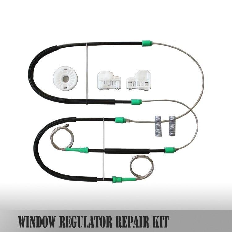 YD FOR VW POLO 6N WINDOW REGULATOR REPAIR KIT FRONT-LEFT NEW