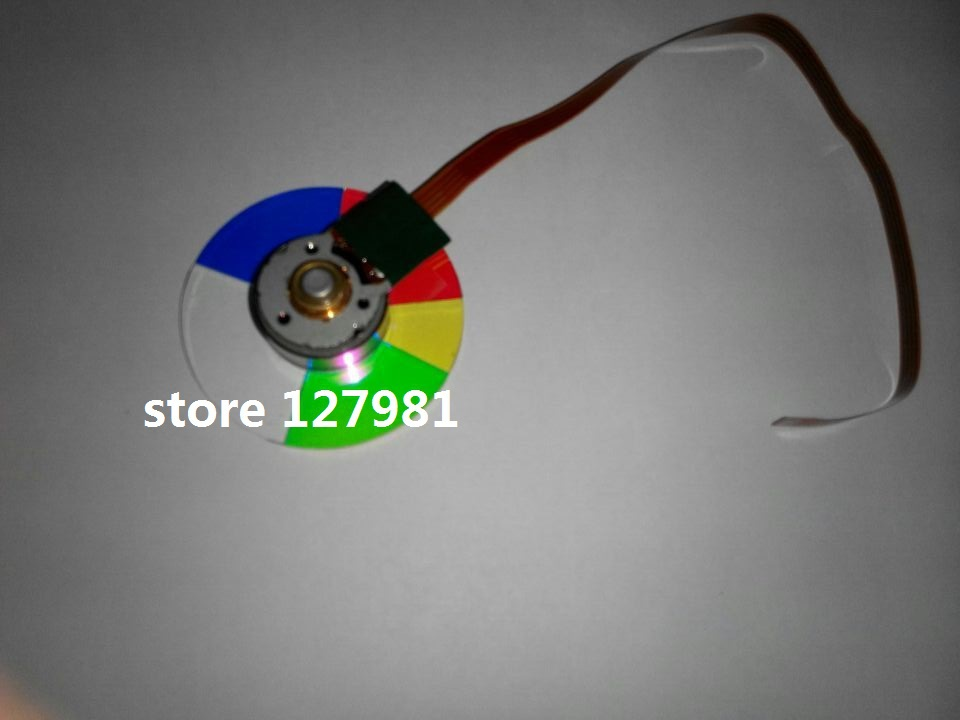Projector Color Wheel For OPTOMA ES513 ES531 EP747T  projector color wheel 4 segments for the projector of optoma ep728 ep739 ep755 ep758 ep756