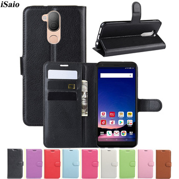 Перейти на Алиэкспресс и купить Для LG style 2 L-01L кошелек флип-чехол кожаный чехол для LG style 2 L-01L чехол для телефона задняя крышка из ТПУ подставка с держателями карт Fundas